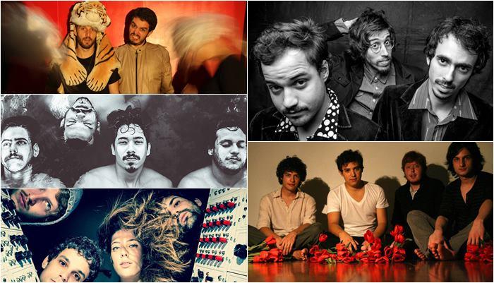 Aldo, the Band. O Terno, Quatro Negro, Inky e Mahmed
