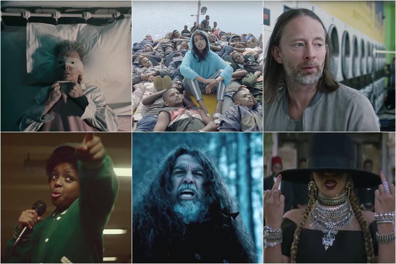melhores videoclipes 2016