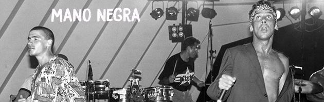 Na foto: Mano Negra, banda de rock francesa Foto: Arquivo A Tarde Data: 27/05/1992