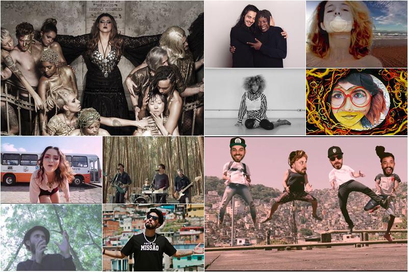 música brasileira atual passa pelos videoclipes