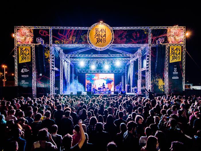 Festival Bananada em Goiânia tem se transformado em um dos principais do país. festivais feiras Brasil 2018