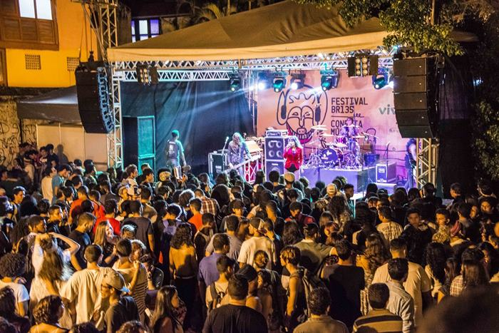 Festival BR 135,em São Luís, é dos mais novos e promissores festivais do país. Foto: Marco Aurélio festivais feiras Brasil 2018