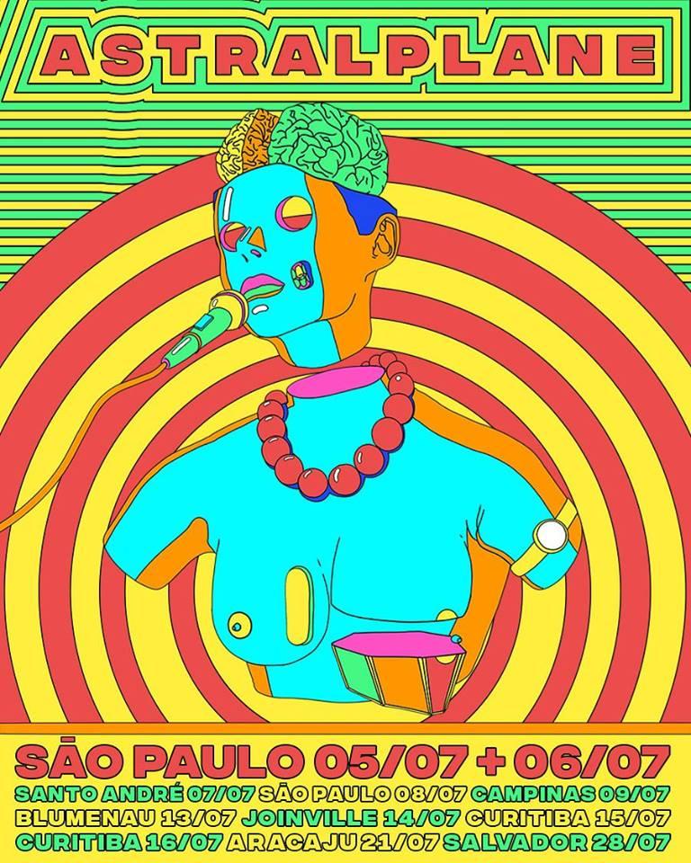Afrocidade Astralplane turnê