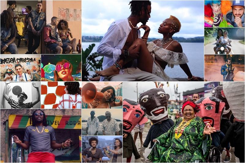 videoclipes música brasileira