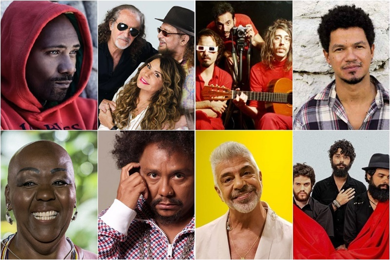 shows agosto 2019 salvador Lulu Santos Zé Manoel Chico César Mv Bill O Terno The Baggios