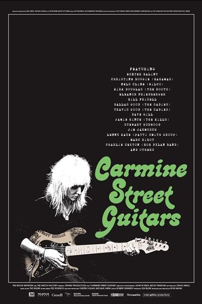Filmes 2019 Música Carmine Street Guitars