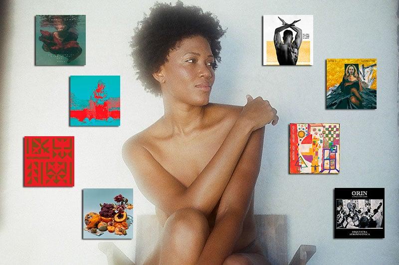álbuns brasileiros 2020