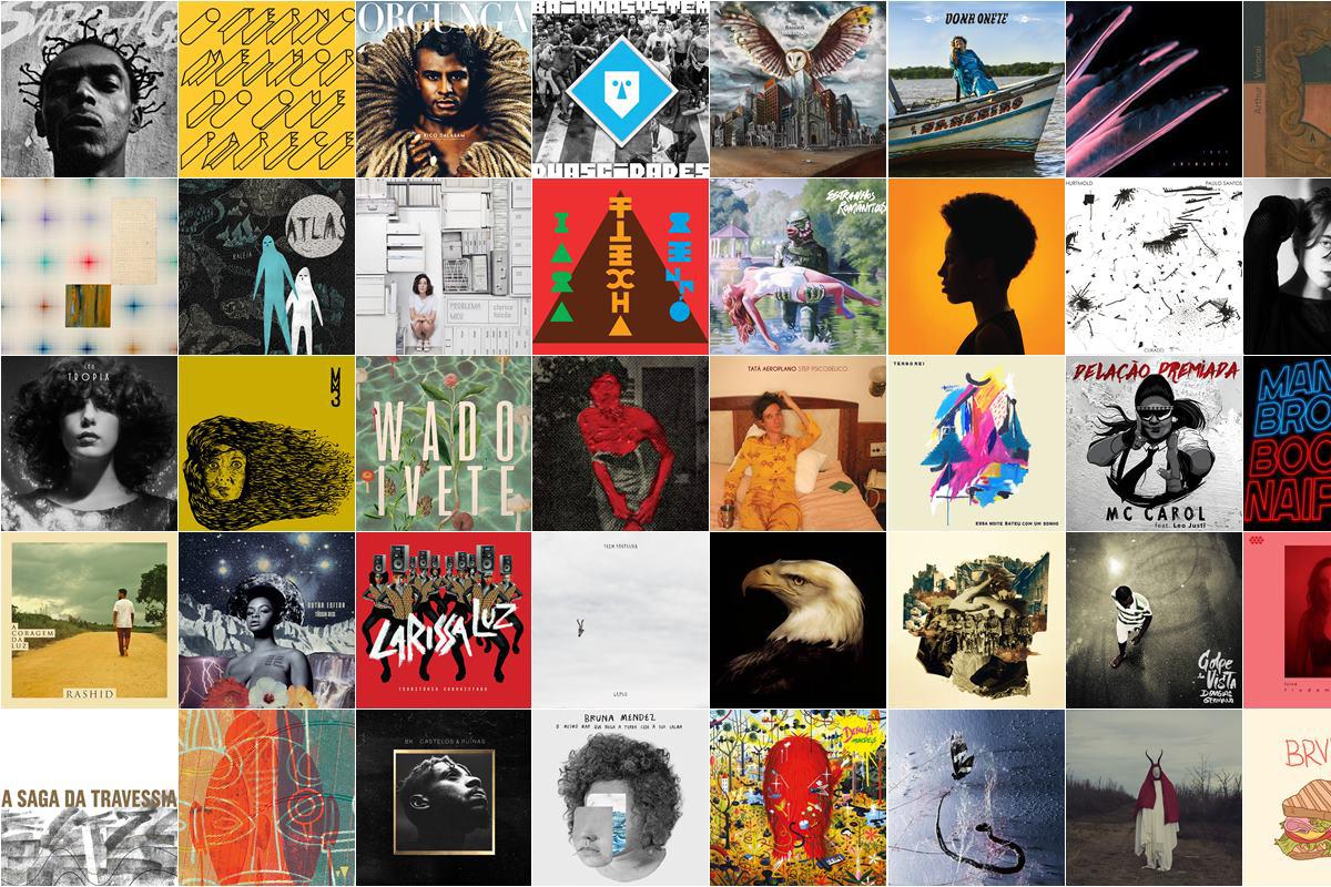 2016 discos brasileiros
