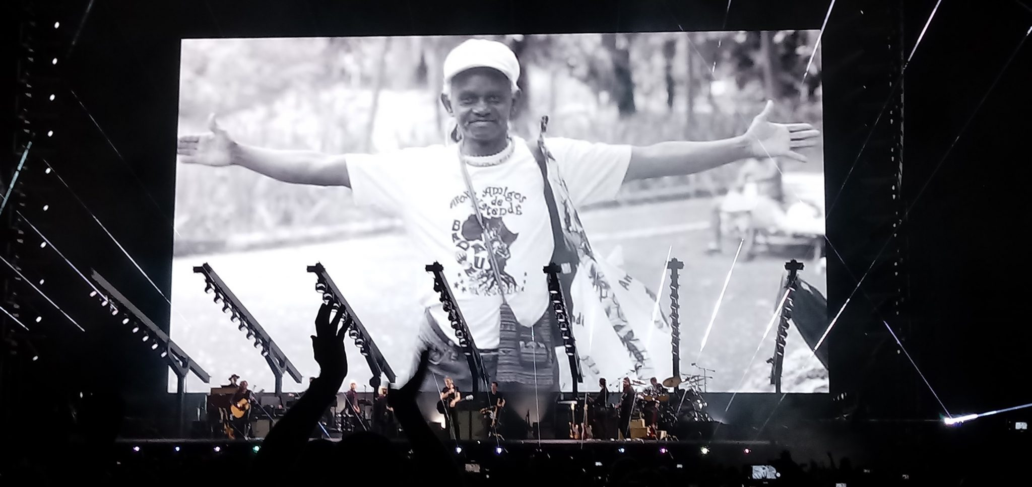Roger Waters Show Salvador Moa do Katendê