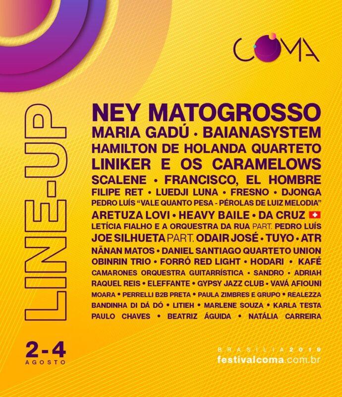 Coma Brasília Festivais