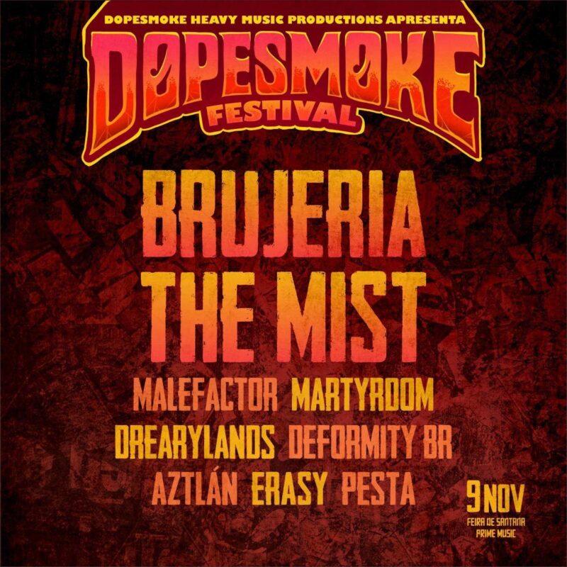 Festival Dopesmoke Feira de Santana Metal Bahia