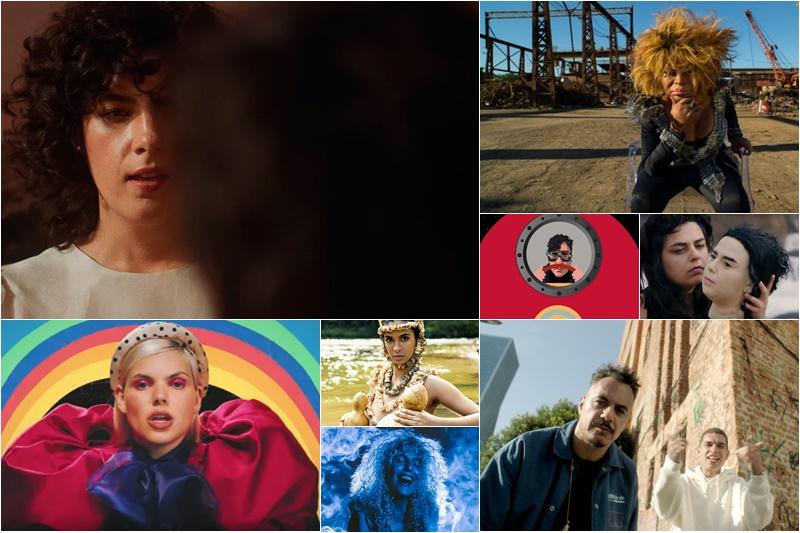 Veja os novos clipes da música brasileira