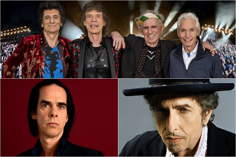 Rolling Stones Bob Dylan Nick Cave