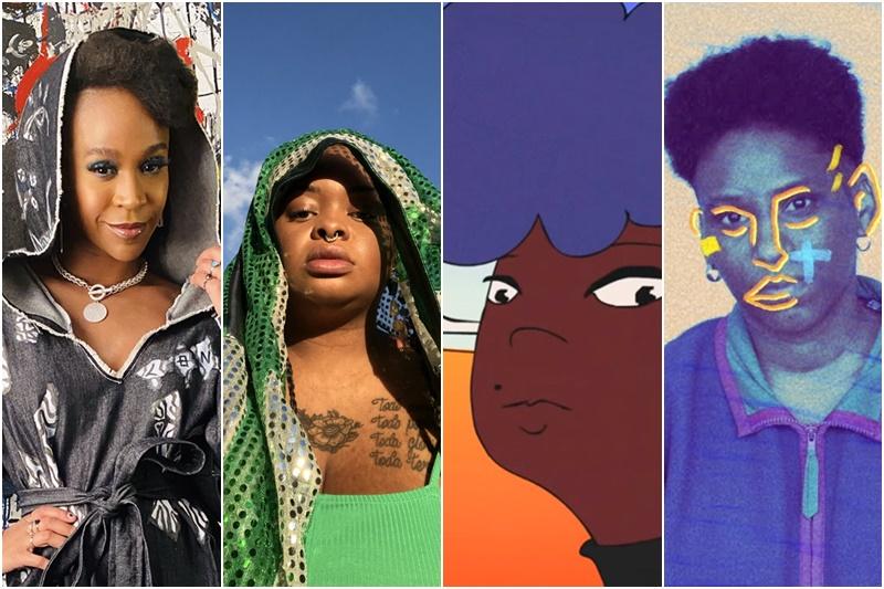Mulheres negras clipes rock
